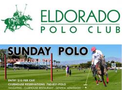 Eldorado Polo Club - Sunday Polo January 28 2018